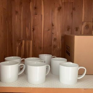 Crate&Barrel tea/coffee mugs SET OF 3